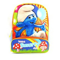 On Sale16 The Smurfs Have A Smurfy Day Backpack