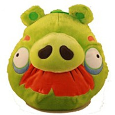 On SaleGreen Plush Backpack