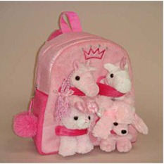 Pink Animal Backpack 11
