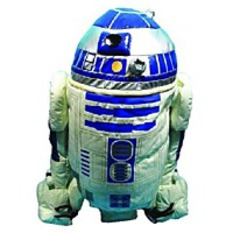 R2D2 Buddies Plush Backpack