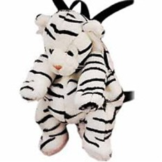 White Tiger Backpack 16