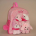 pink animal backpack unipak designs offer