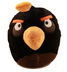 angry birds black plush backpack size