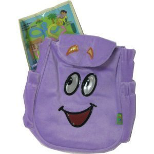 Plush Backpack Bag